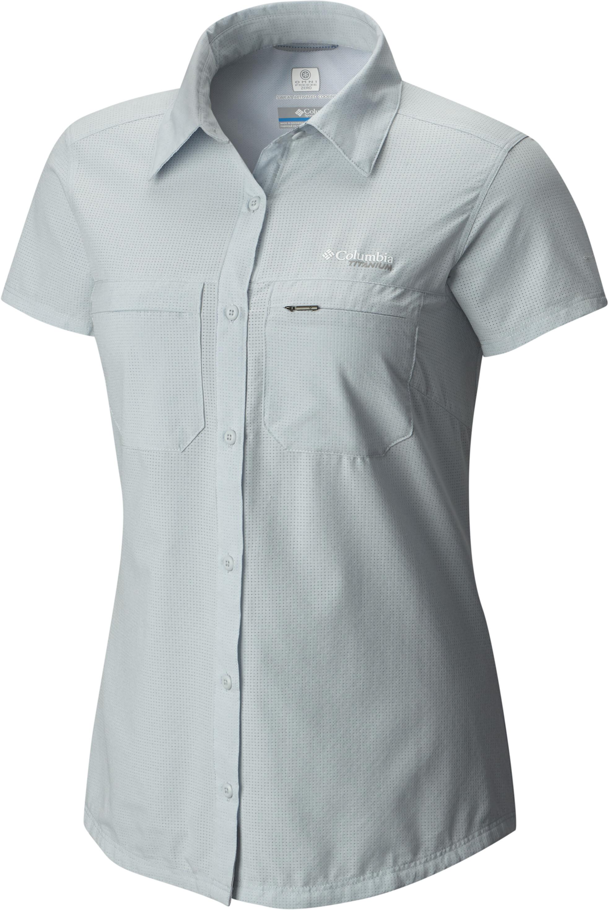 Nueva York e73c3 c6808 Columbia Irico Camiseta manga corta Mujer, cirrus grey heather